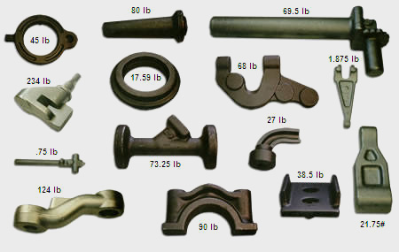 Variety of closed die forging products